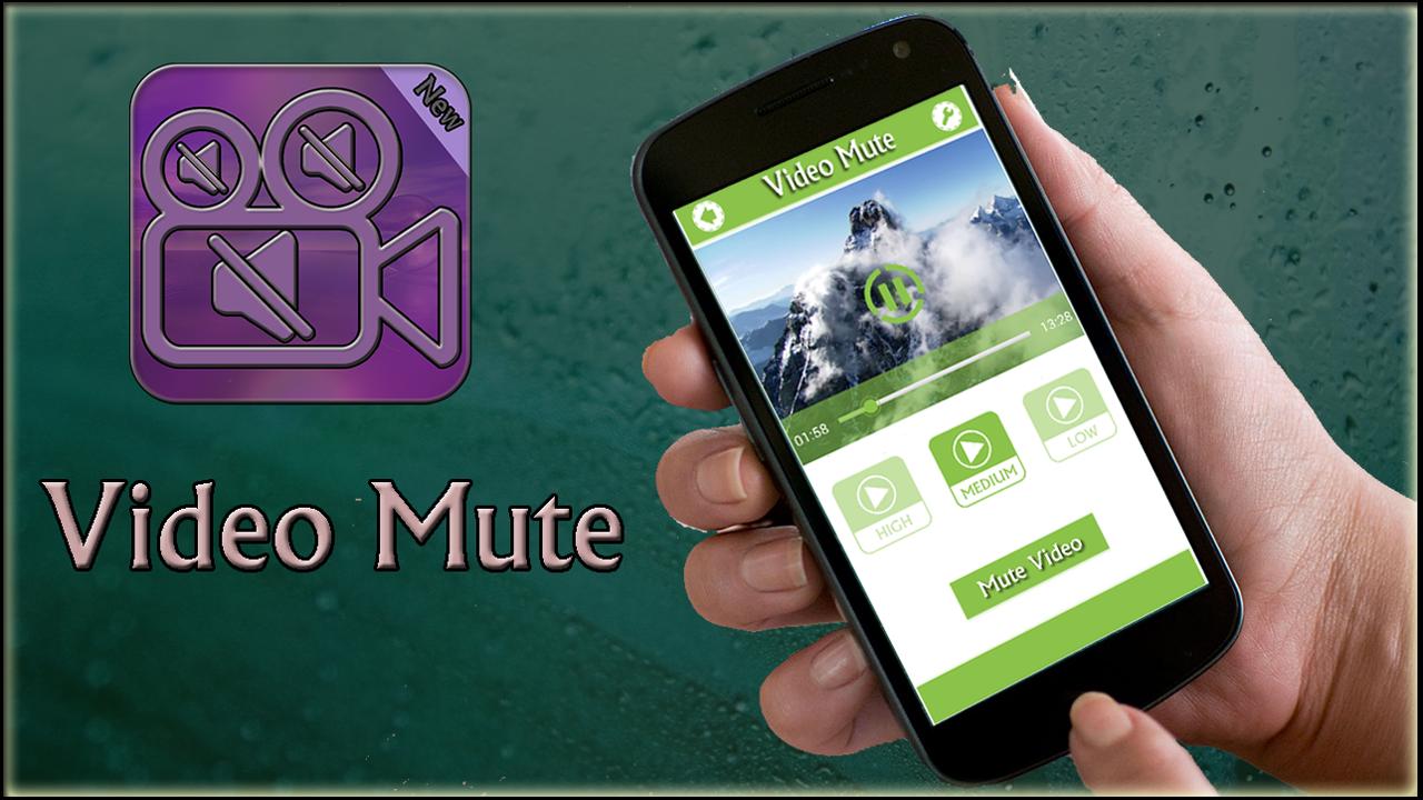 تحميل برنامج فصل الصوت عن الفيديو 2020 Video Mute للاندرويد