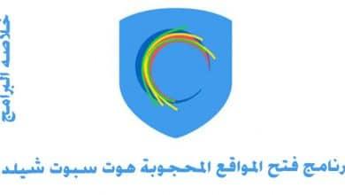 Photo of برنامج فتح المواقع المحجوبة هوت سبوت شيلد 2020